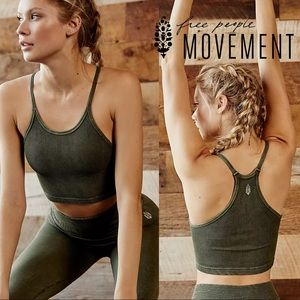 Free People Movement Happiness Runs Crop Top